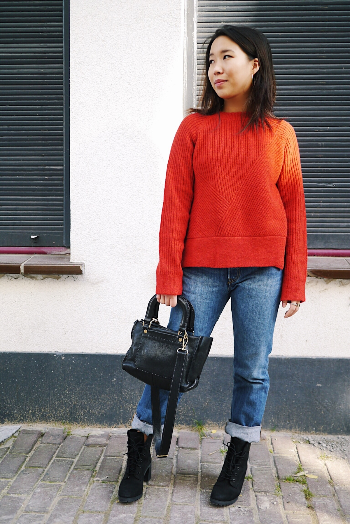 21 - Red Wool Knit - Leisure 4