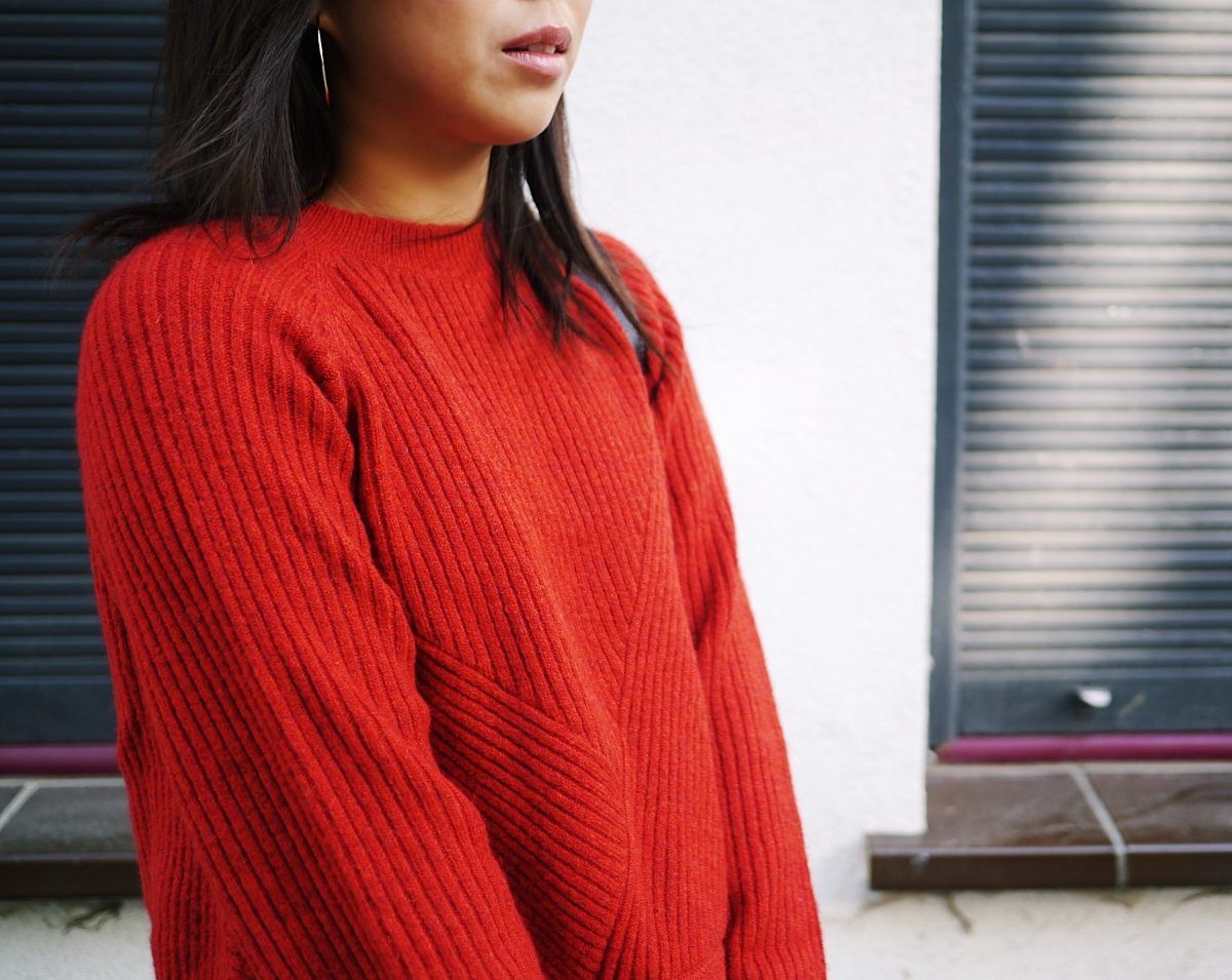21 - Red Wool Knit - Leisure 5