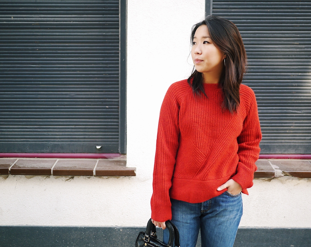 21 - Red Wool Knit - Leisure 6